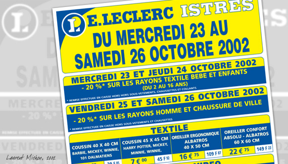 Prospectus E Leclerc Laurent Michon Web Conseil