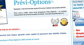 Promotion de l'assurance-vie Prévi-Options