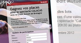 Bulletin de participation au Grand Jeu Spectacle Calacas